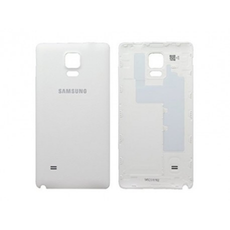 Akkudeckel back cover Samsung N910 Note 4 weiss ORG (sercvice pack) GH98-34209A