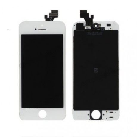 LCD Display iPhone 5 weiss ORG