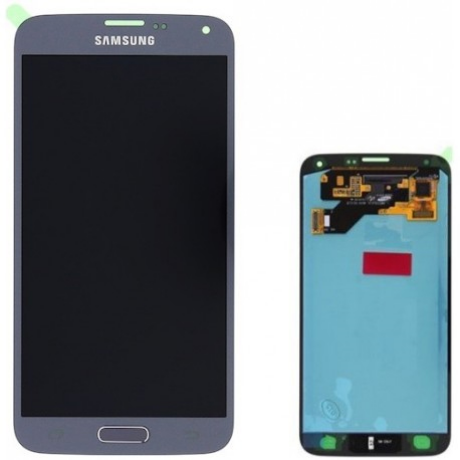 LCD Display Samsung G903 S5 neo silber ORG (original service pack) GH97-17787C