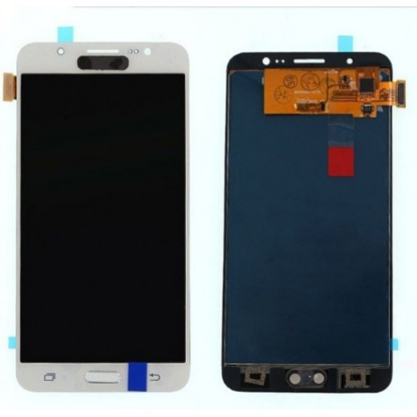 LCD Display Samsung J710 J7 2016 weiss ORG (original service pack) GH97-18855C