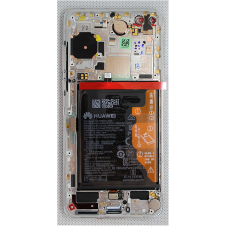 LCD Display Huawei P40 weiss ORG 02353MFW